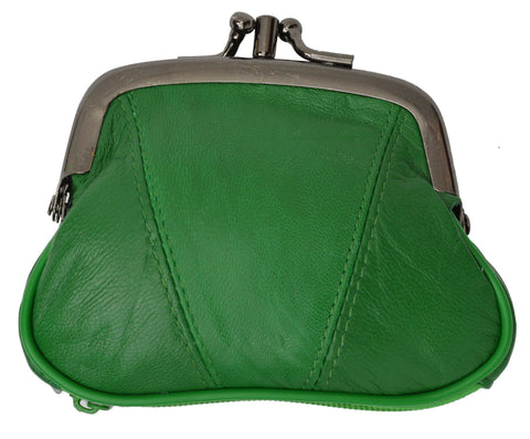 Wallet - Colors and Style Classic Leather Change Purse - WholesaleLeatherSupplier.com  - 10