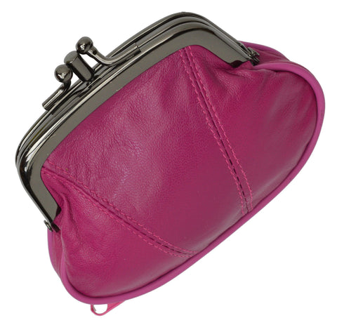 Wallet - Colors and Style Classic Leather Change Purse - WholesaleLeatherSupplier.com  - 13