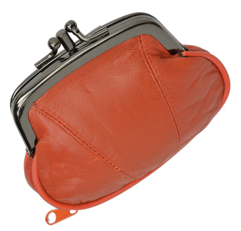 Wallet - Colors and Style Classic Leather Change Purse - WholesaleLeatherSupplier.com  - 16