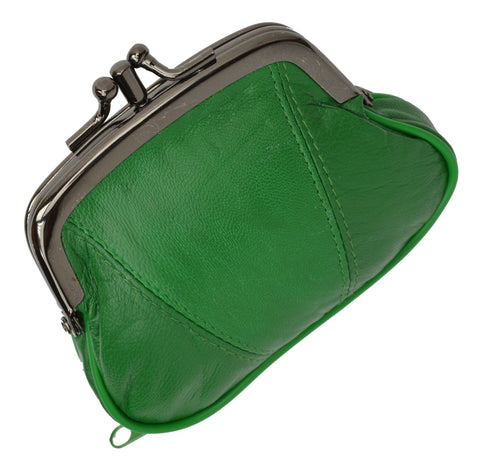 Wallet - Colors and Style Classic Leather Change Purse - WholesaleLeatherSupplier.com  - 17