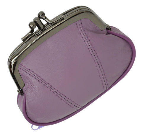 Wallet - Colors and Style Classic Leather Change Purse - WholesaleLeatherSupplier.com  - 18