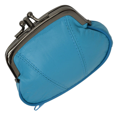 Wallet - Colors and Style Classic Leather Change Purse - WholesaleLeatherSupplier.com  - 19