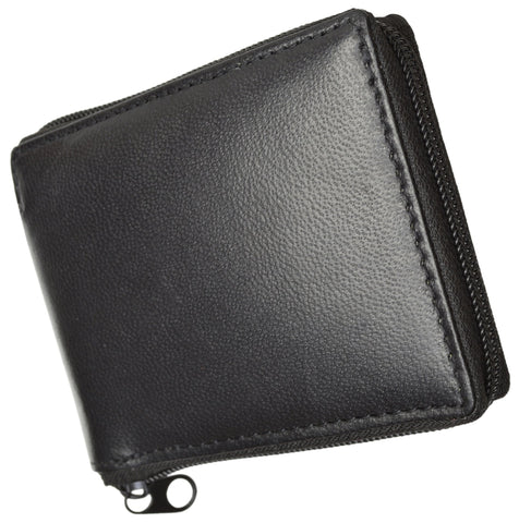 Men's Luxury Leather Casual Wallet - WholesaleLeatherSupplier.com  - 5