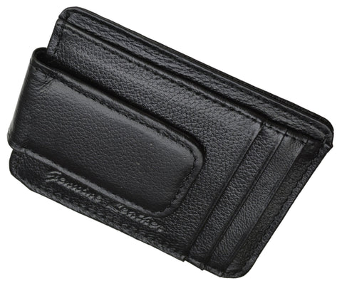 Genuine Leather Magnetic Money Clip - WholesaleLeatherSupplier.com  - 11