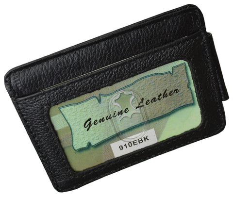 Luxurious Genuine Leather Magnetic Money Clip - WholesaleLeatherSupplier.com  - 8