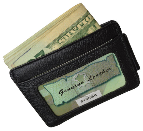 Luxurious Genuine Leather Magnetic Money Clip - WholesaleLeatherSupplier.com  - 7