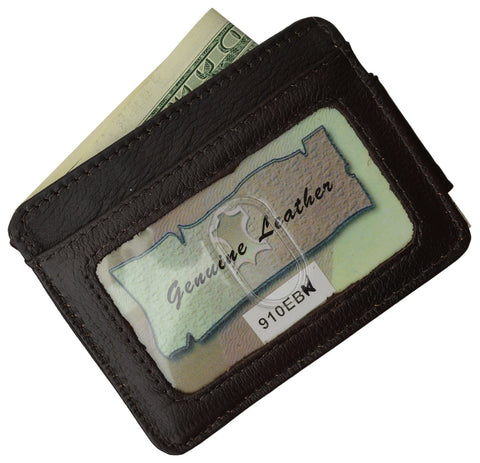 Luxurious Genuine Leather Magnetic Money Clip