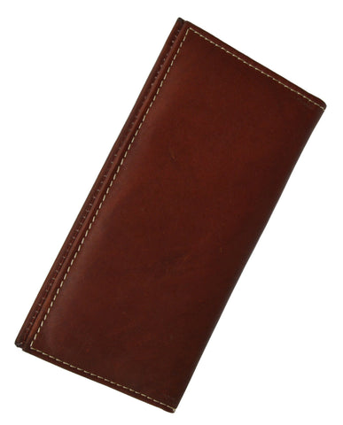 Leather Checkbook Cover Cross Sign