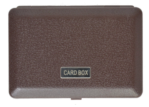 Snap Closure Credit Card Holder - WholesaleLeatherSupplier.com  - 5