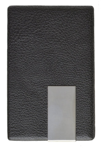 Vegan Leather Credit Card Holder with Magnetic Closure - WholesaleLeatherSupplier.com  - 2