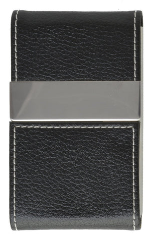 Faux Leather Business Card Holder - WholesaleLeatherSupplier.com  - 4