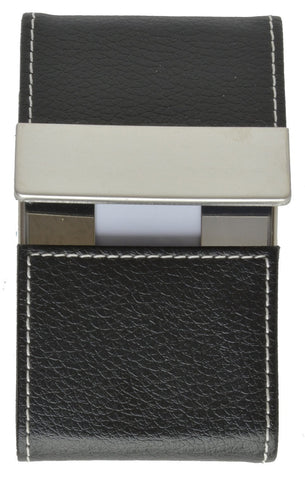 Faux Leather Business Card Holder - WholesaleLeatherSupplier.com  - 2