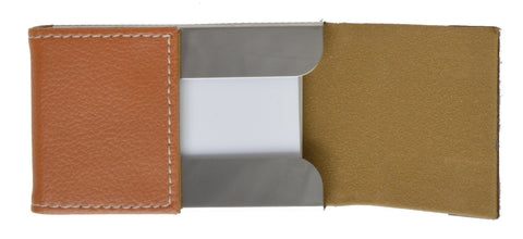 Faux Leather Business Card Holder - WholesaleLeatherSupplier.com  - 6