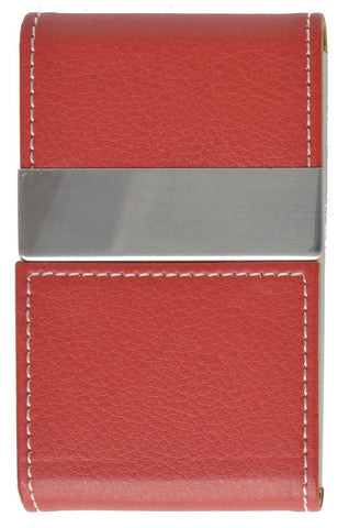 Faux Leather Business Card Holder - WholesaleLeatherSupplier.com  - 3