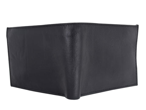 AFONiE Leather Bi Fold Wallet