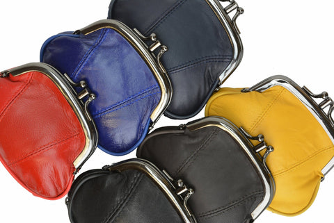 Wallet - Colors and Style Classic Leather Change Purse