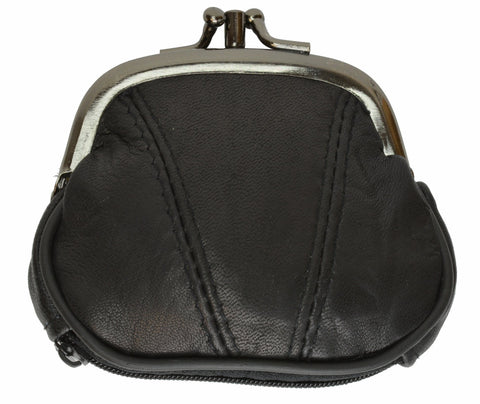 Wallet - Colors and Style Classic Leather Change Purse - WholesaleLeatherSupplier.com  - 21