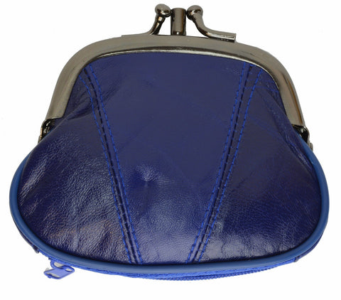 Wallet - Colors and Style Classic Leather Change Purse - WholesaleLeatherSupplier.com  - 25