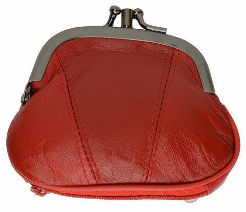Wallet - Colors and Style Classic Leather Change Purse - WholesaleLeatherSupplier.com  - 26