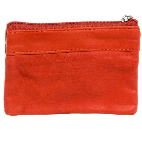 Leather Change Purse w/ Key Ring - WholesaleLeatherSupplier.com  - 16