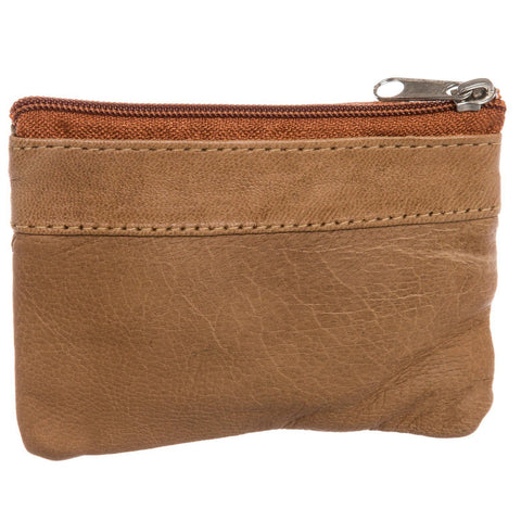 Leather Change Purse w/ Key Ring - WholesaleLeatherSupplier.com  - 20