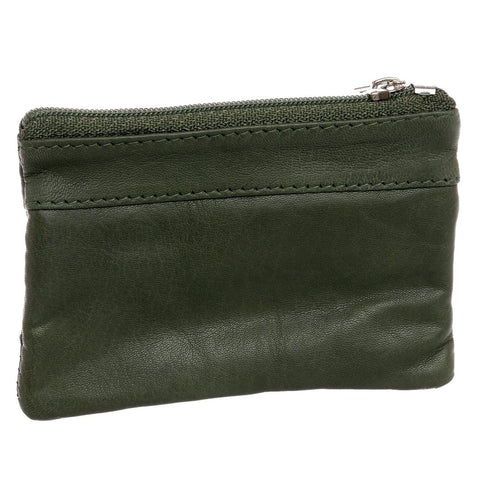 Leather Change Purse w/ Key Ring - WholesaleLeatherSupplier.com  - 15
