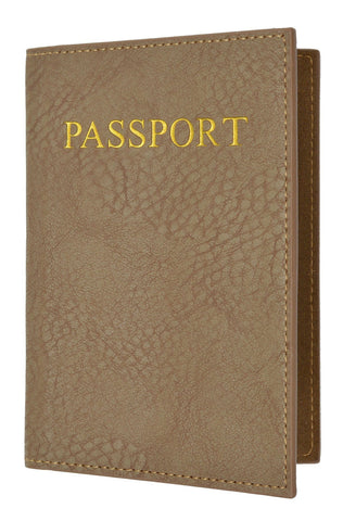Passport Holder - Tan - WholesaleLeatherSupplier.com  - 4