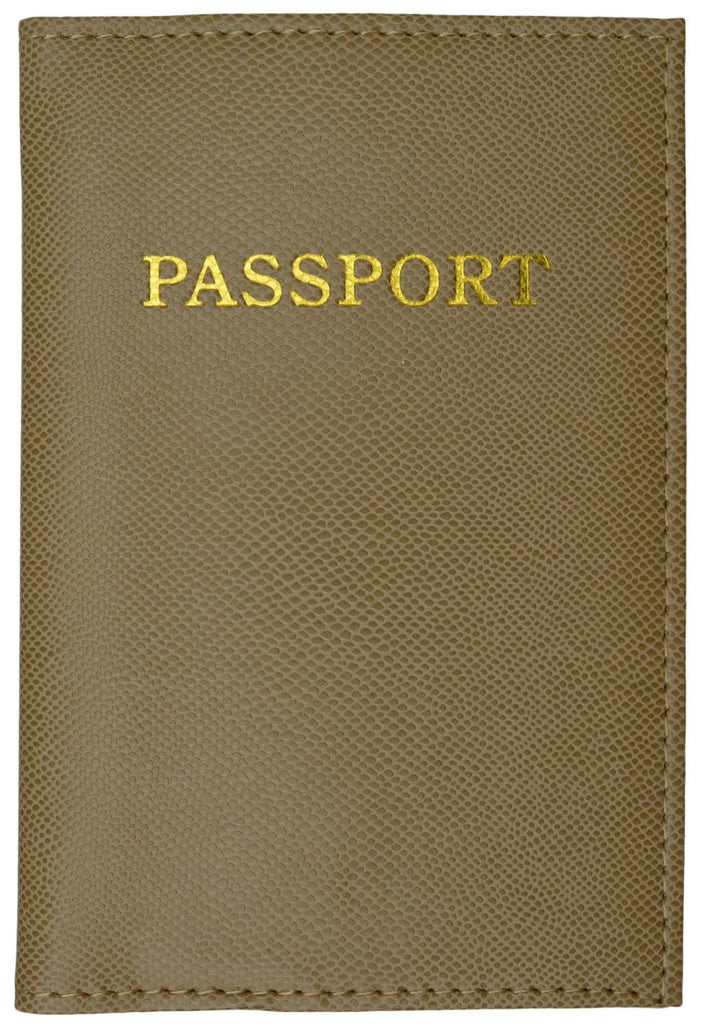 Passport Holder - Tan - WholesaleLeatherSupplier.com  - 2
