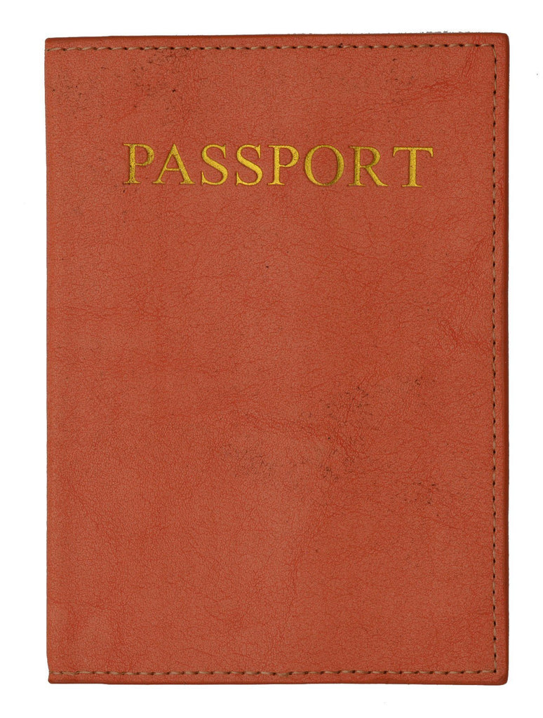 Passport Holder - Peach - WholesaleLeatherSupplier.com  - 2
