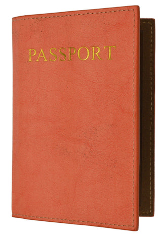 Passport Holder - Tan - WholesaleLeatherSupplier.com  - 5