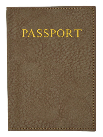 Passport Holder - Brown - WholesaleLeatherSupplier.com  - 9