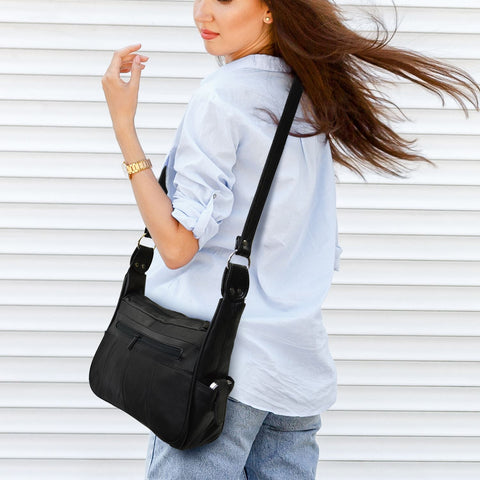 Leather Hobo Bag For Women