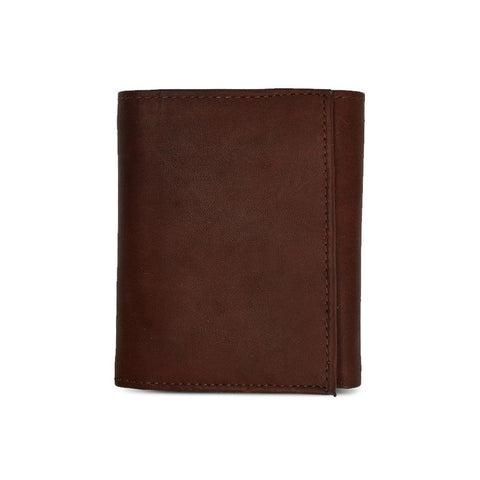 Soft Tri-Fold Leather Wallet For Men