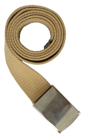 Long Adjustable Canvas Belt for Men
