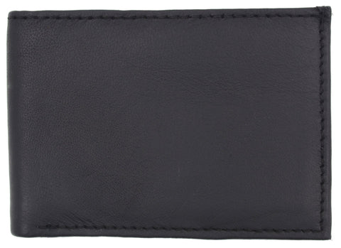 AFONiE Men's Genuine Leather Bi-fold Wallet
