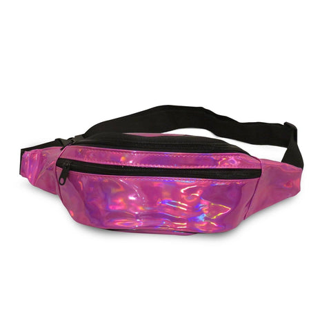 Waist Pouch Colorful Holographic Bag