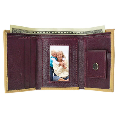 Genuine Leather Kids Wallet