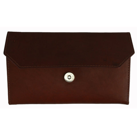 Thin and Classic Large Capacity Genuine Leather Clutch Women's Wallet