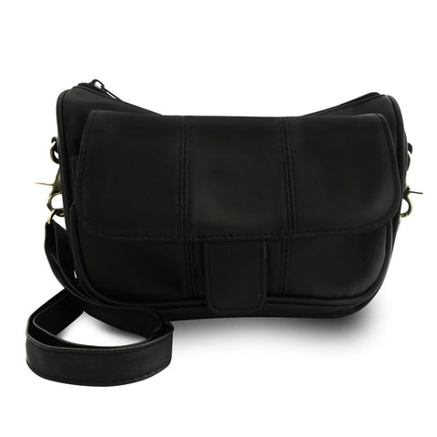 Bella Leather Crossbody Handbag