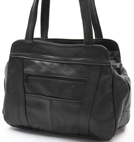 Tote Leather Bag - WholesaleLeatherSupplier.com  - 6