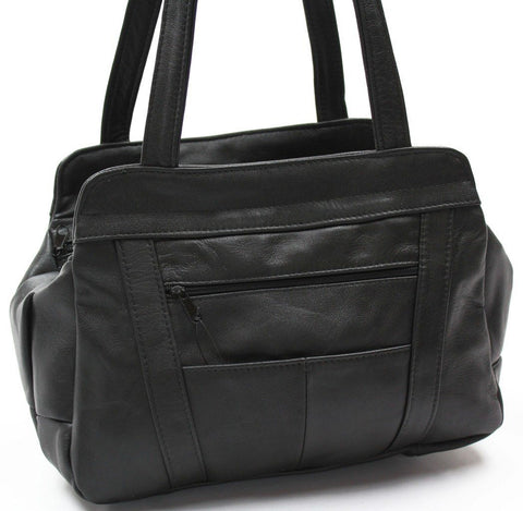 Tote Leather Bag - WholesaleLeatherSupplier.com  - 4