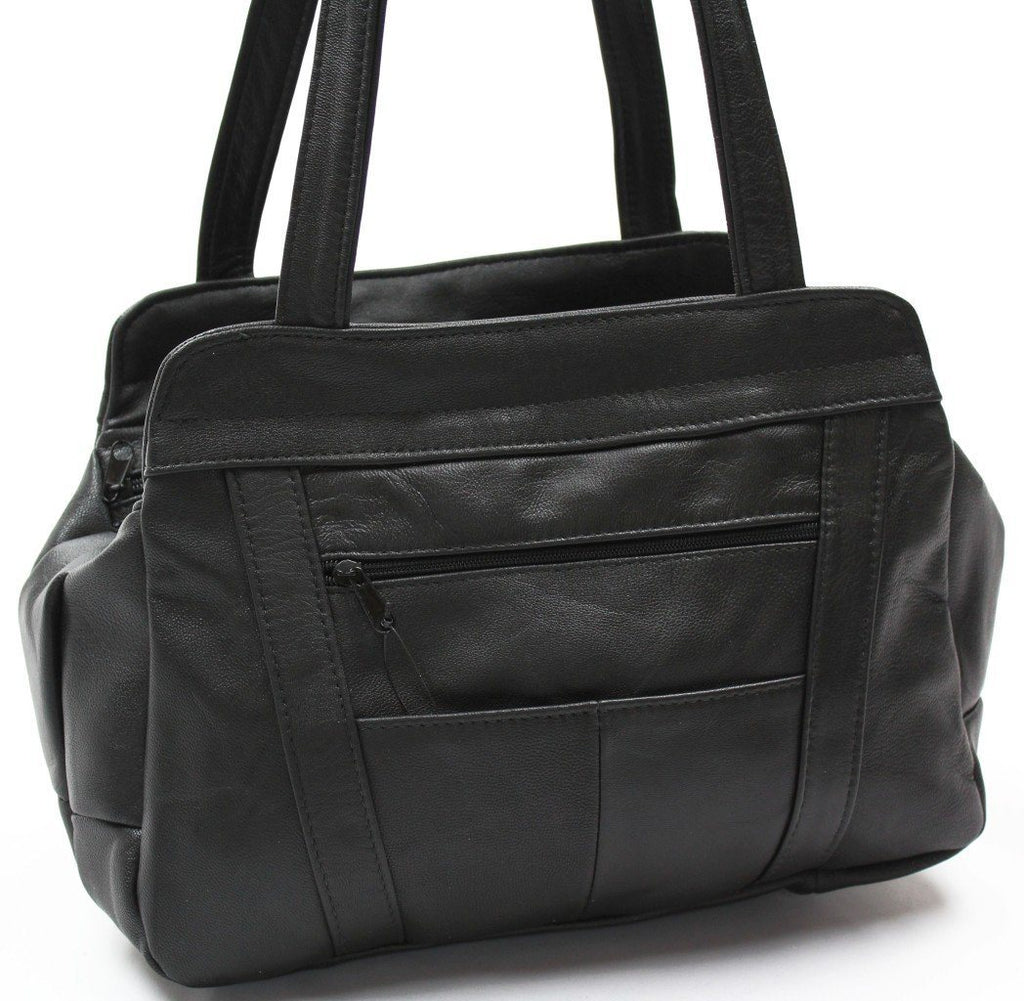 Tote Leather Bag - WholesaleLeatherSupplier.com  - 2