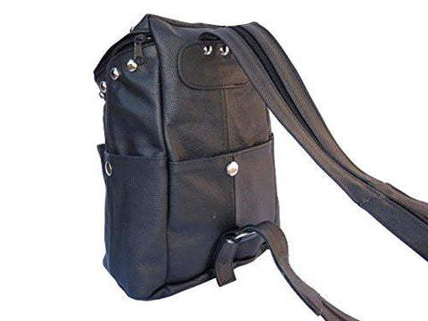 Chic Leather Backpack - WholesaleLeatherSupplier.com  - 3