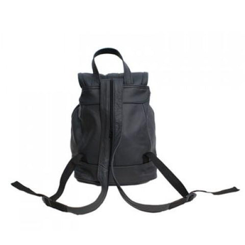 Genuine Leather Backpack with Convertible Strap Super Soft Leather Brown Color - WholesaleLeatherSupplier.com  - 7