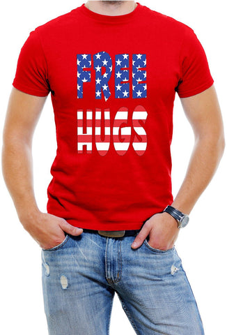 Free Hugs USA Men T-Shirt
