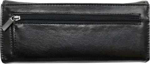 Super Soft Feel Women Crown Wallet - WholesaleLeatherSupplier.com  - 5