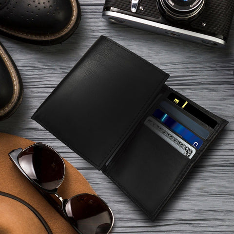 Men's Premium Leather Trifold Wallet