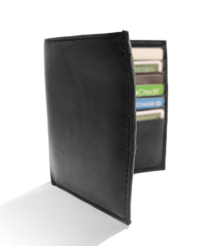 Deluxe RFID-Blocking Genuine Leather Bifold Wallet For Men - Brown - WholesaleLeatherSupplier.com  - 5