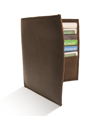 Deluxe RFID-Blocking Genuine Leather Bifold Wallet For Men - Brown - WholesaleLeatherSupplier.com  - 2