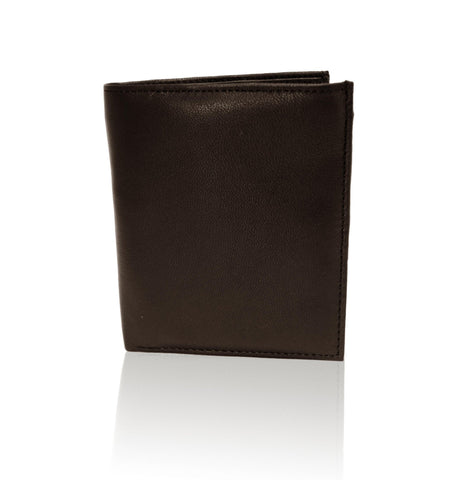 Deluxe RFID-Blocking Genuine Leather Bifold Wallet For Men - Brown - WholesaleLeatherSupplier.com  - 3